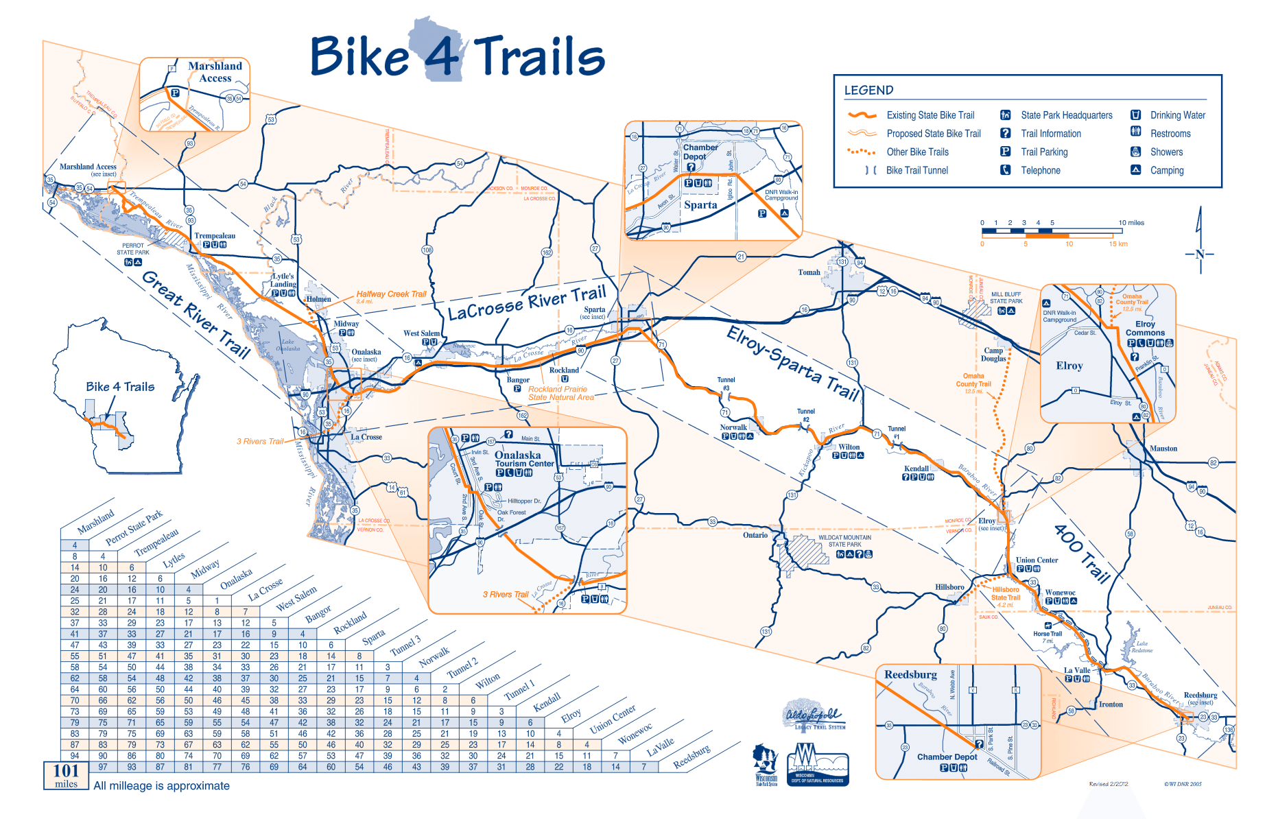 400 State Trail Map