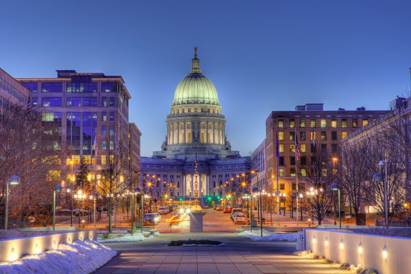 Madison Capitol - Madison, Wisconsin