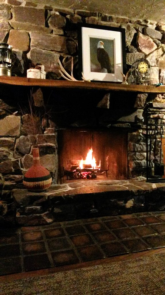 Redstone Fireplace – Wisconsin River Retreat